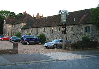 Hangleton Manor, not Lorraine & Andy's house.