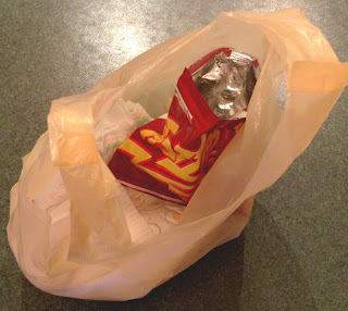 Bag of crisps.