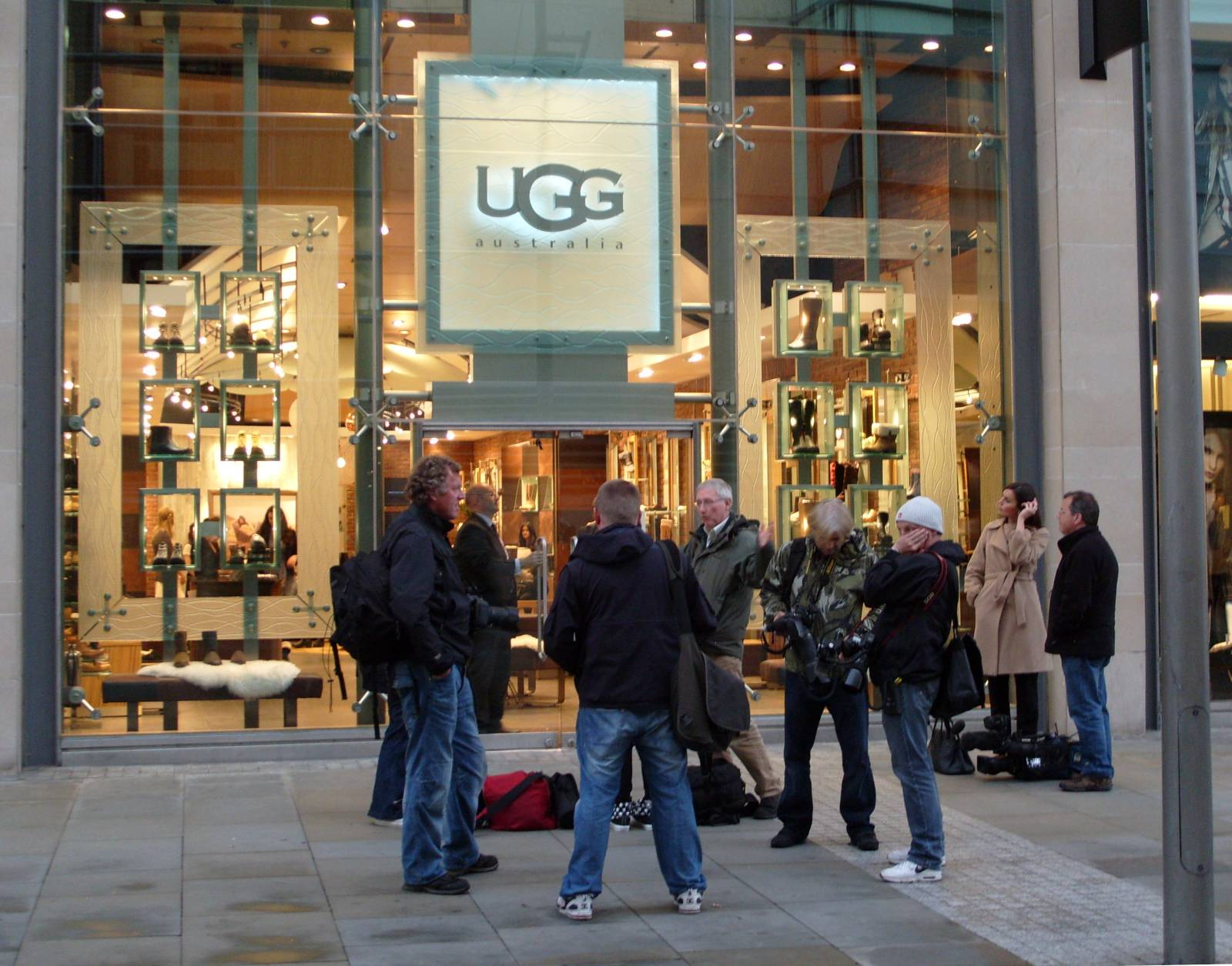 the ugg shop manchester