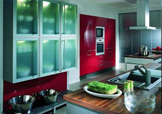 Modern kitchen interior design hiasan dalaman dapur