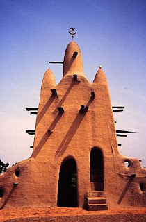 small mosque in Mali