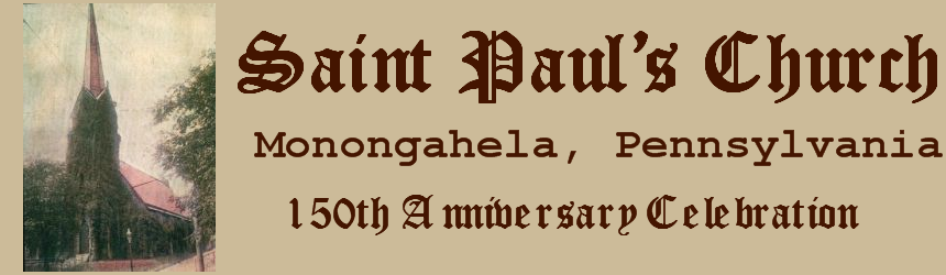 Saint Paul's Monongahela 150th Anniversary