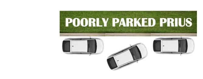 Poorly Parked Prius
