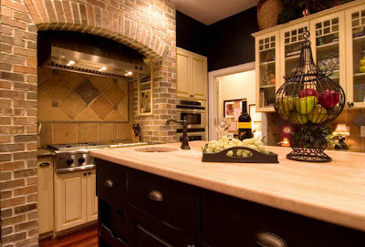 Kitchen Designers Chicago on Black Walls Contrast So Beautifully With Chicago Brick