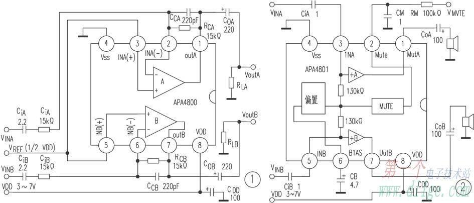 low-power amplifier apa4800    apa480