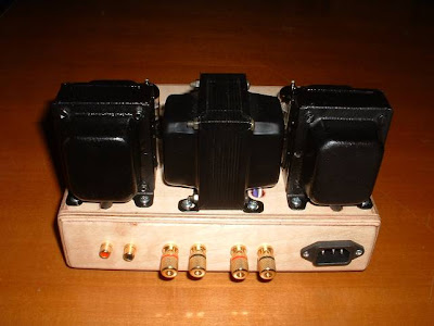 rear-Single-Ended-Class-A-Power-Amplifier-using-6C45Pi