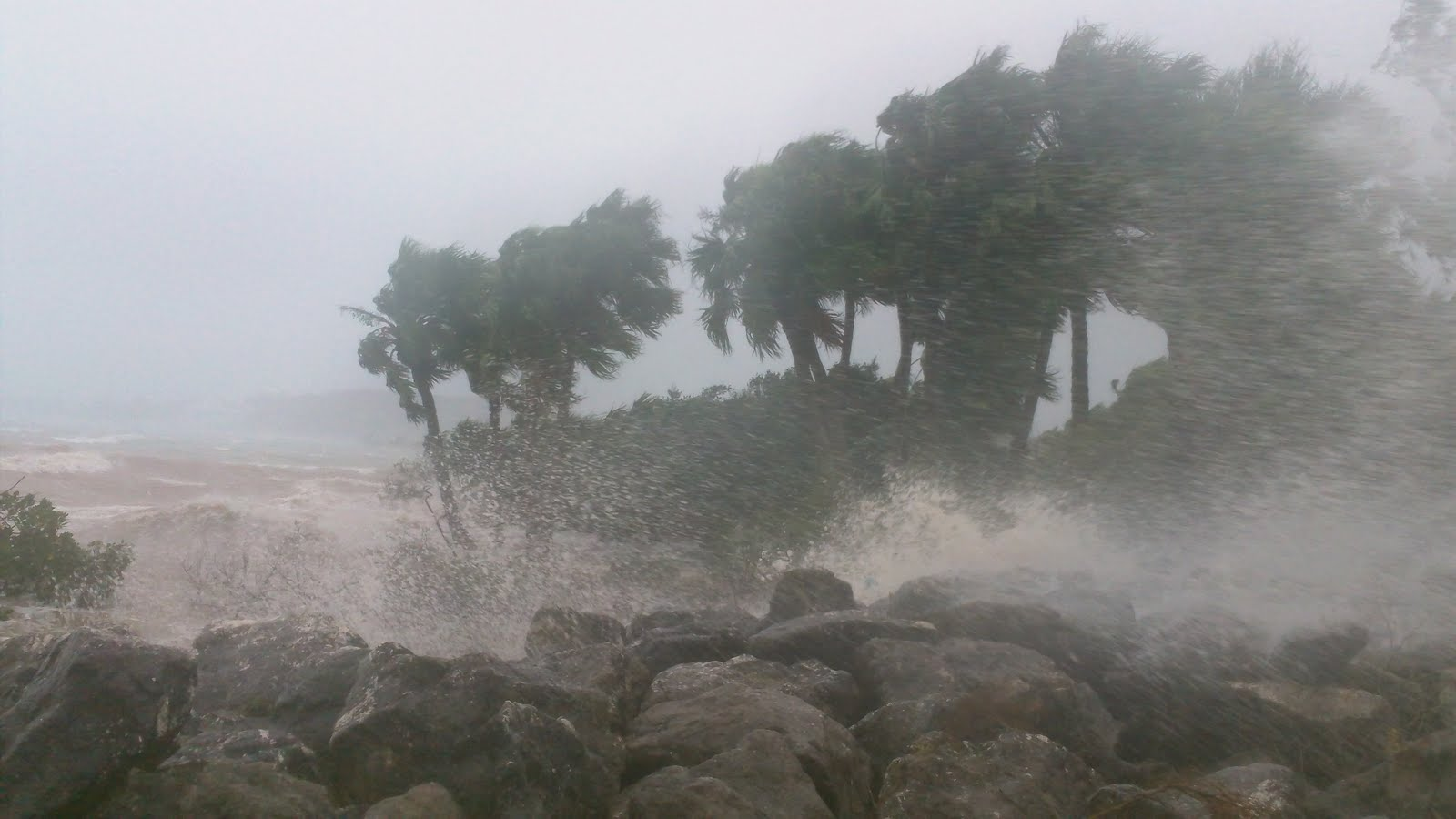 EYE OF THE STORM: Hurricane Igor Pictures from Bermuda!