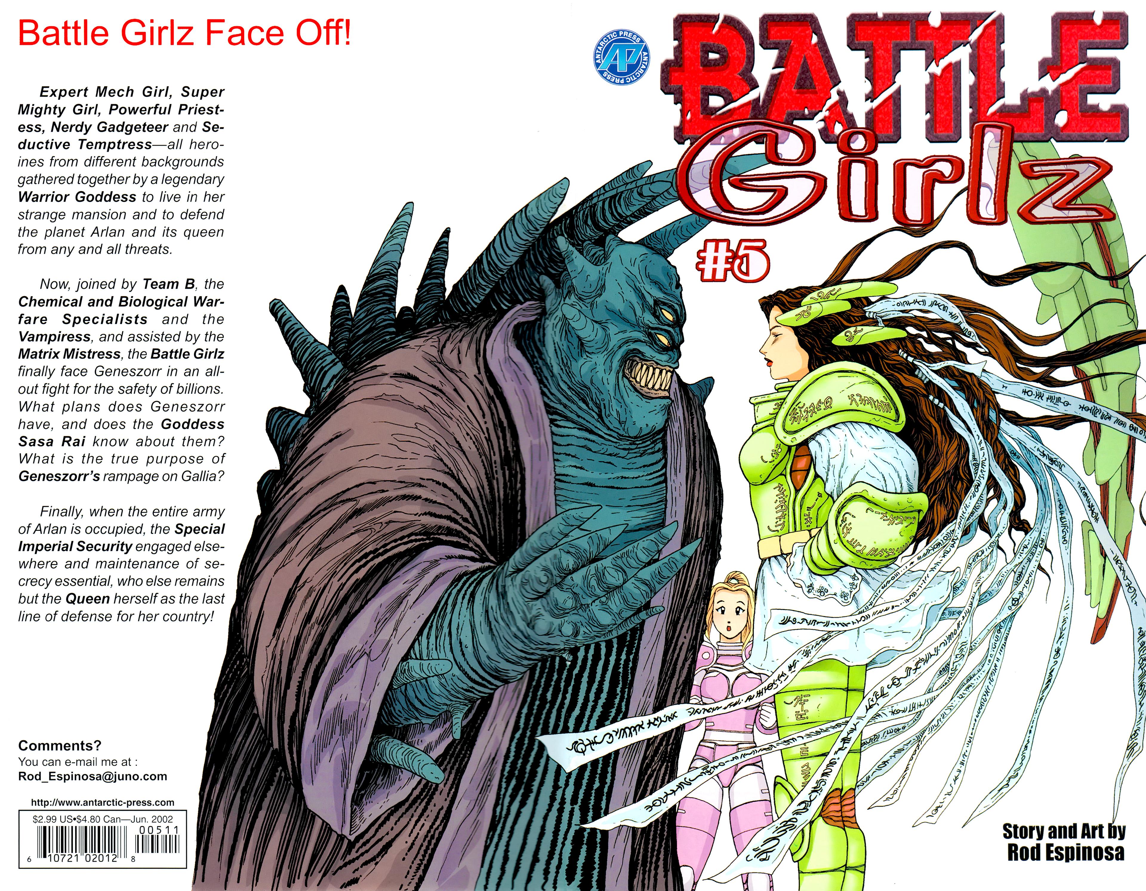 Battle Girlz 5 Page 1