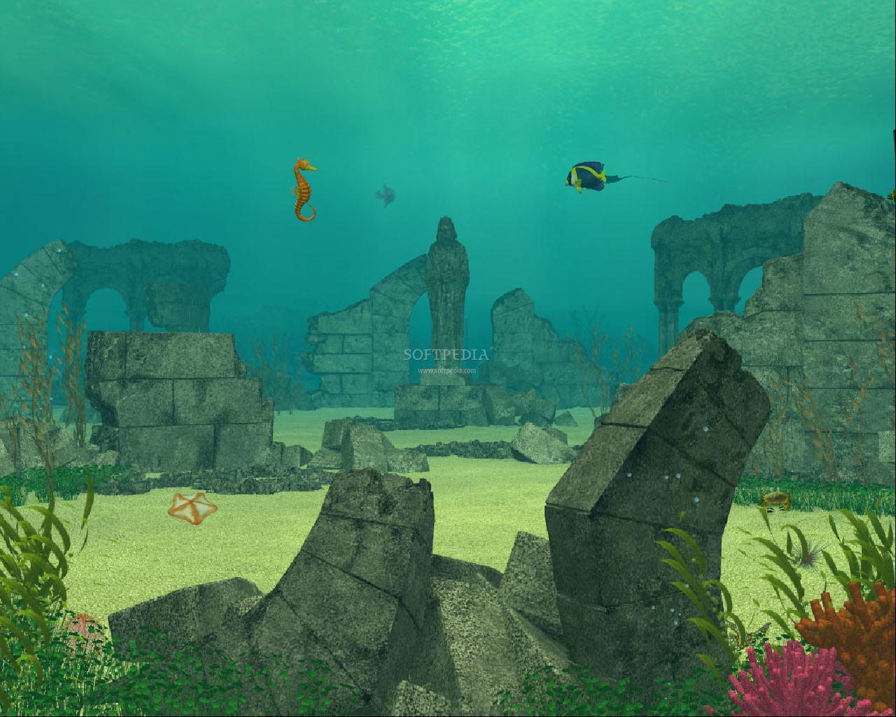 underwater cartoon wallpaper - photo #11