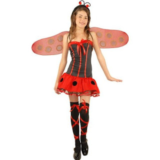 preteen sexy ladybug costume preteen preteen equals ages 10 12