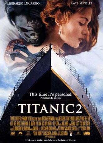 leonardo dicaprio titanic 2. Titanic 2