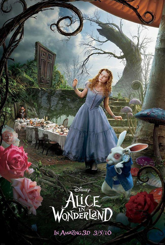 Alice Aux Pays Des Merveilles (Tim Burton) Alice_au_pays_des_merveilles_alice_in_wonderland_affiche_poster_new_tim_burton_1
