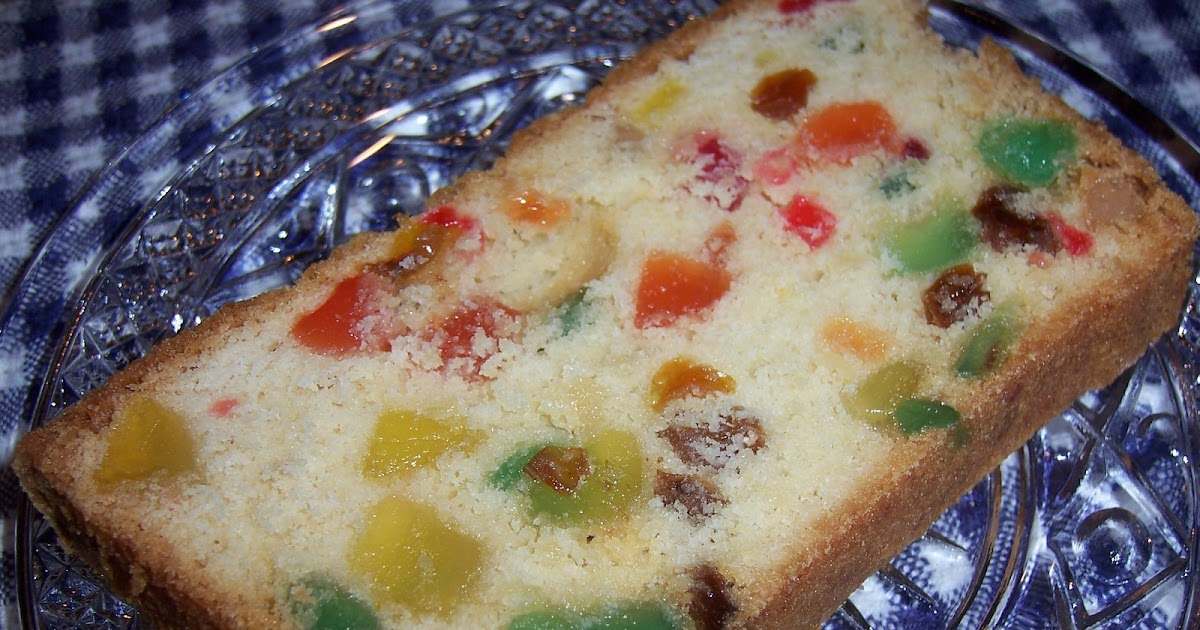 Culinary Types Gumdrop Cake From 1946