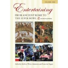 "I&#39;m a contributor to ""Entertaining from Ancient Rome to the Super Bowl"""