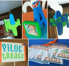 airplane party idea on kara's party blog  kid's party ideas birthdays baby showers bridal showers  http://www.frostedevents.com