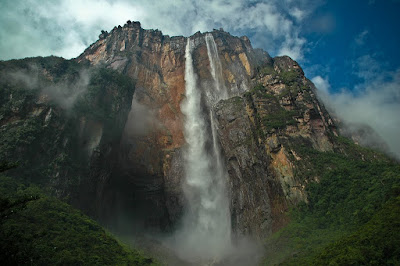 Mount Auyantepui with the Angel Falls