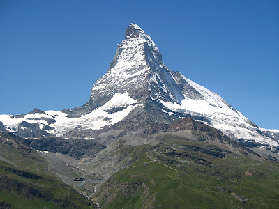 The Matterhorn, the Pyramid-shaped Mountain
