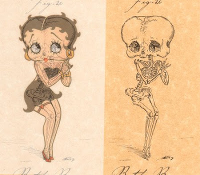 Betty Boop Tattoo Cartoon