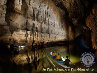 inside the Subterranean River - 'Caves' Category