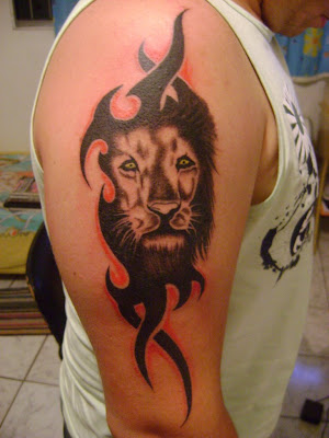 chinese tattoo for love tribal lion head tattoo