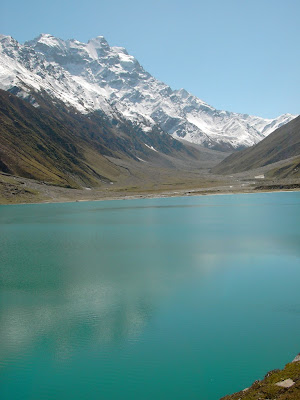 Crystal clear water at Lake Saiful Muluk