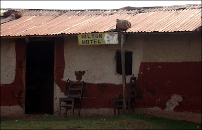 Funny Signs from Africa - hilton hotel