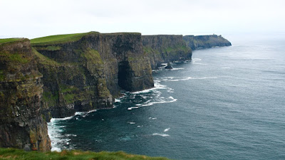 The stretch of the Cliff of Moher