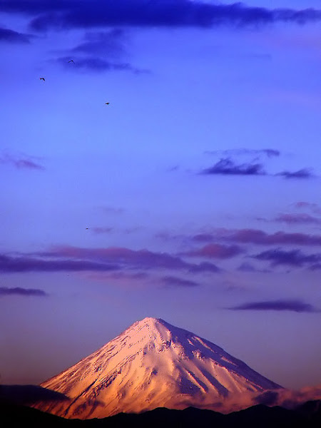 Sunset at Mount Damavand