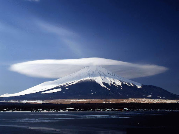 cloud cap of Mount Damavand