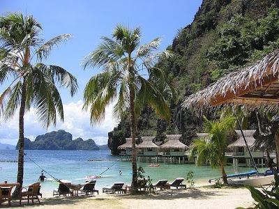 Lagen beach front, El Nido, Palawan