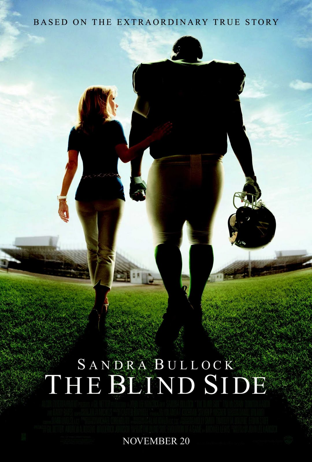 the movie review the blind side The blind side is the true story about baltimore ravens' right tackle mike oher, a young man who was taken in by a wealthy christian family in tennessee and given the.