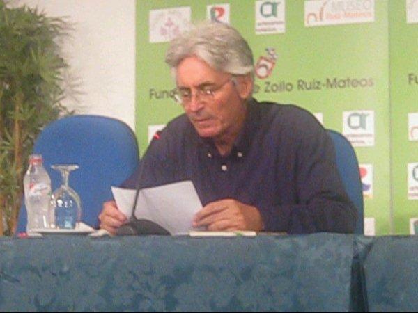 Poemas en la Fundación Ruiz Mateos