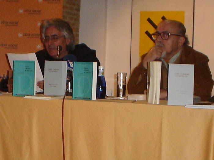 Lectura de poemas en la exposición FRANJA DE GAZA