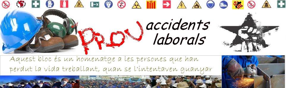 prou accidents laborals