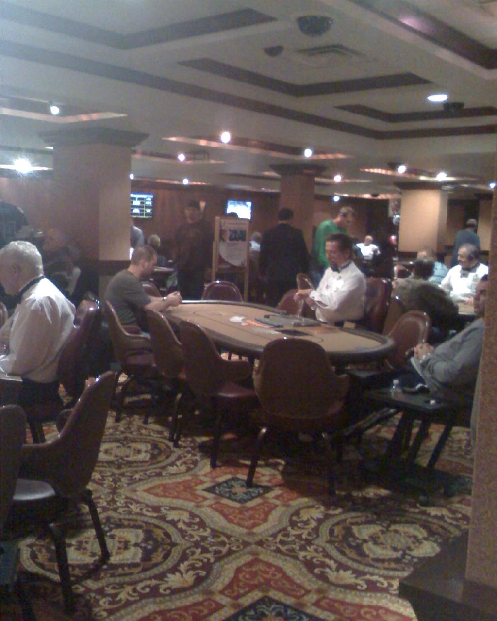 Bally's poker room las vegas