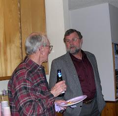 Tom with Bill Moye