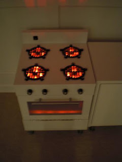 Using Led Lights As Toy Kitchen Burners