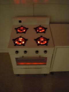 Ihackea projects ikea toy kitchen for my girls for Ikea twinkle lights
