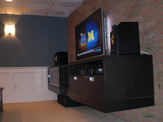 Floating ikea entertainment center members 39 theaters ht for Floating entertainment center ikea