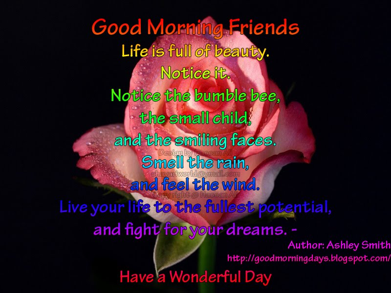 Good Morning Thoughts for 09-04-2010