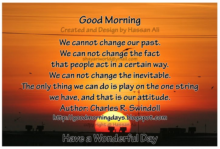 Self Improving Inspiring Quotes: Good Morning Quotes for 03-05-2010