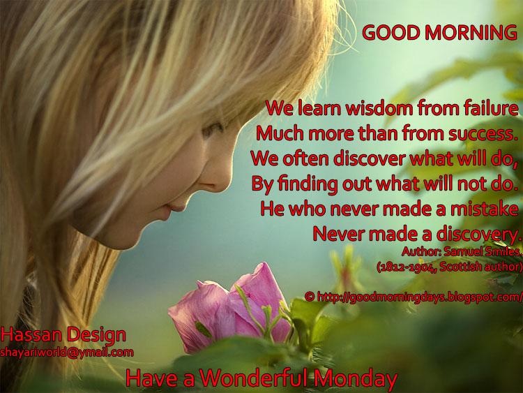 self improving inspiring quotes good morning monday 8
