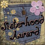 Sisterhood Blog Award