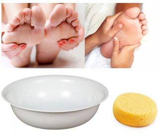 aseo especial de pies | apuntes auxiliar enfermeria - Bano General Del Paciente En Cama