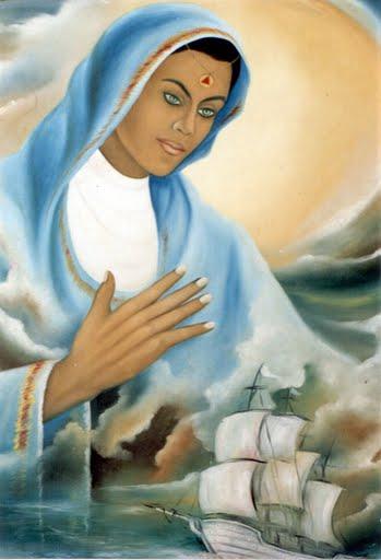 Muitas vezes Cigana aganara: Maria, Mãe de Jesus LY49