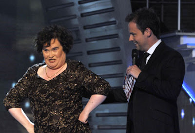 Susan Boyle Singer Britain's Got Talent Piers Morgan