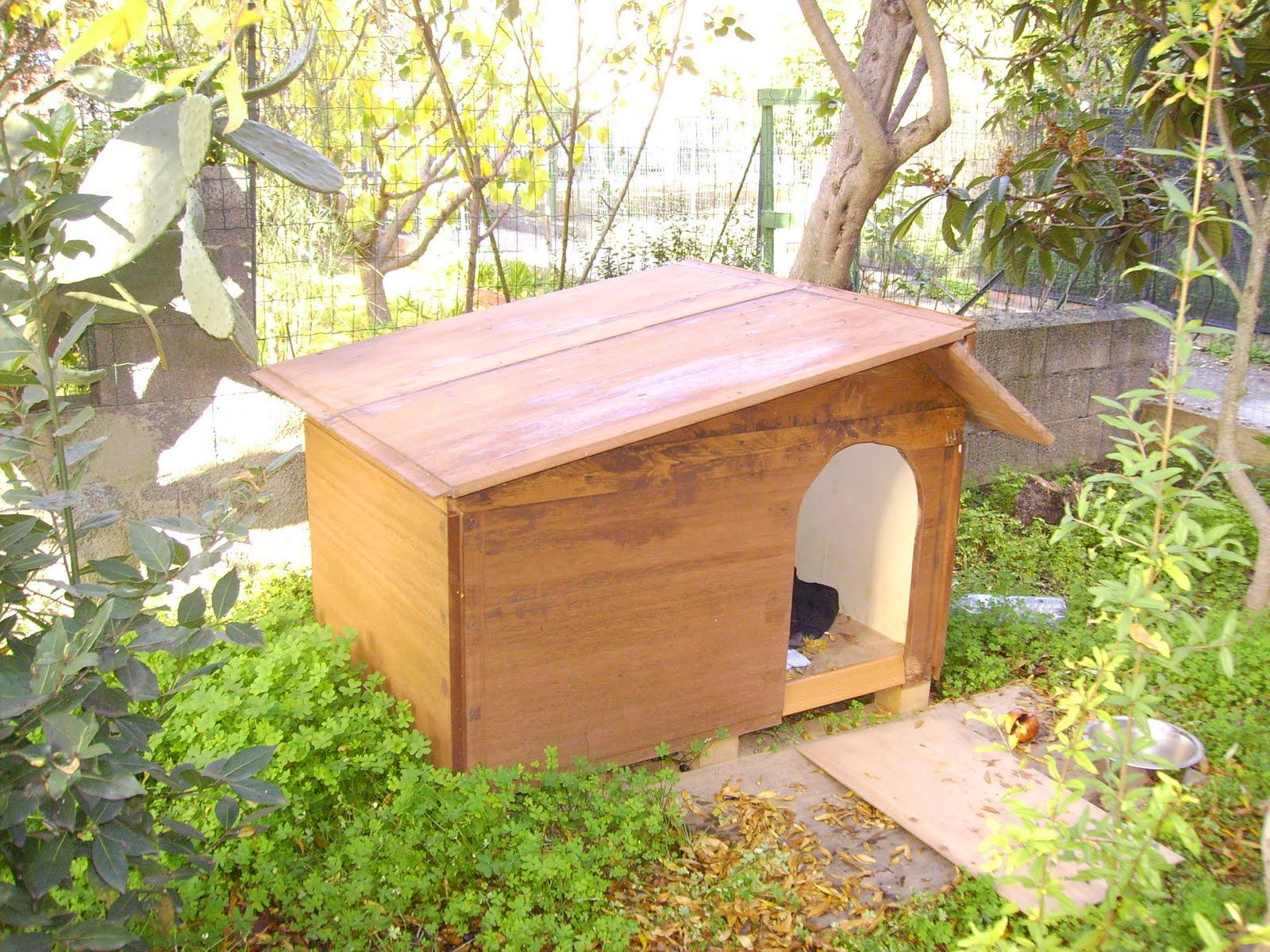 Bricoblog costruire una cuccia per cane tipo labradorpastore for Cucce per cani coibentate da esterno