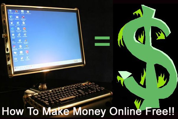 How To Make Money Online Free - From Home!
