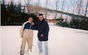 Un dia de nevada por el norte de España.