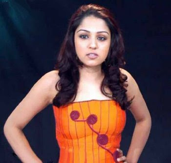 Lekha Washington as a VJ in the SS Music office #5